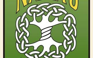 Celtic knot pattern tree of life