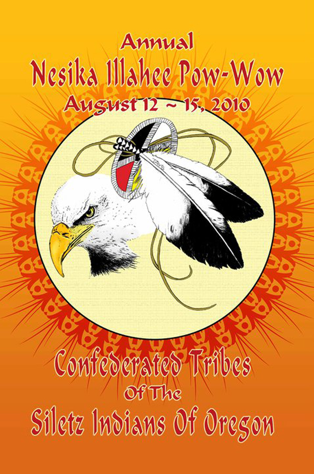 2010 Confederated Tribes of The Siletz Indians of Oregon banner