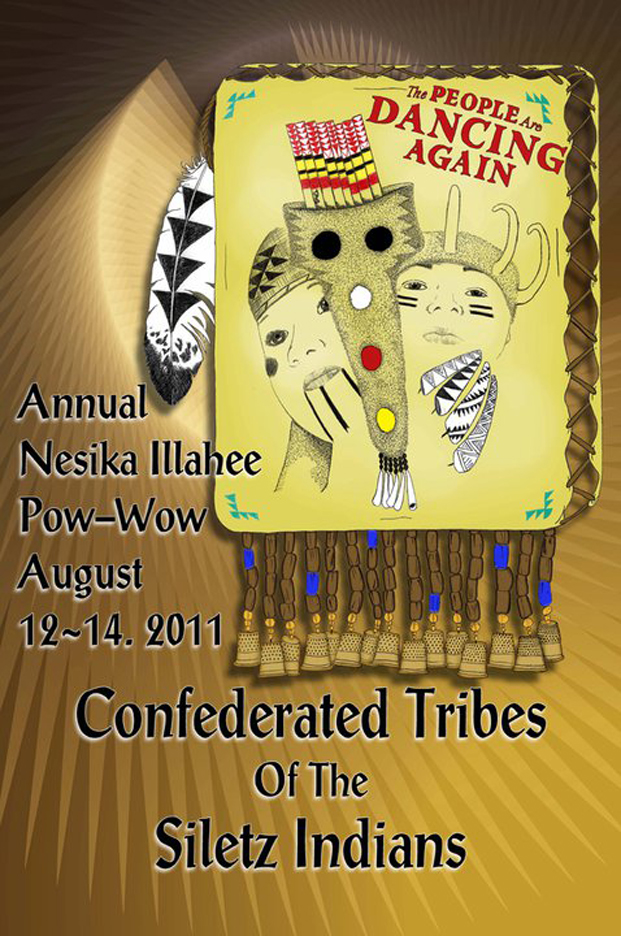 2011 Confederated Tribes of The Siletz Indians of Oregon banner