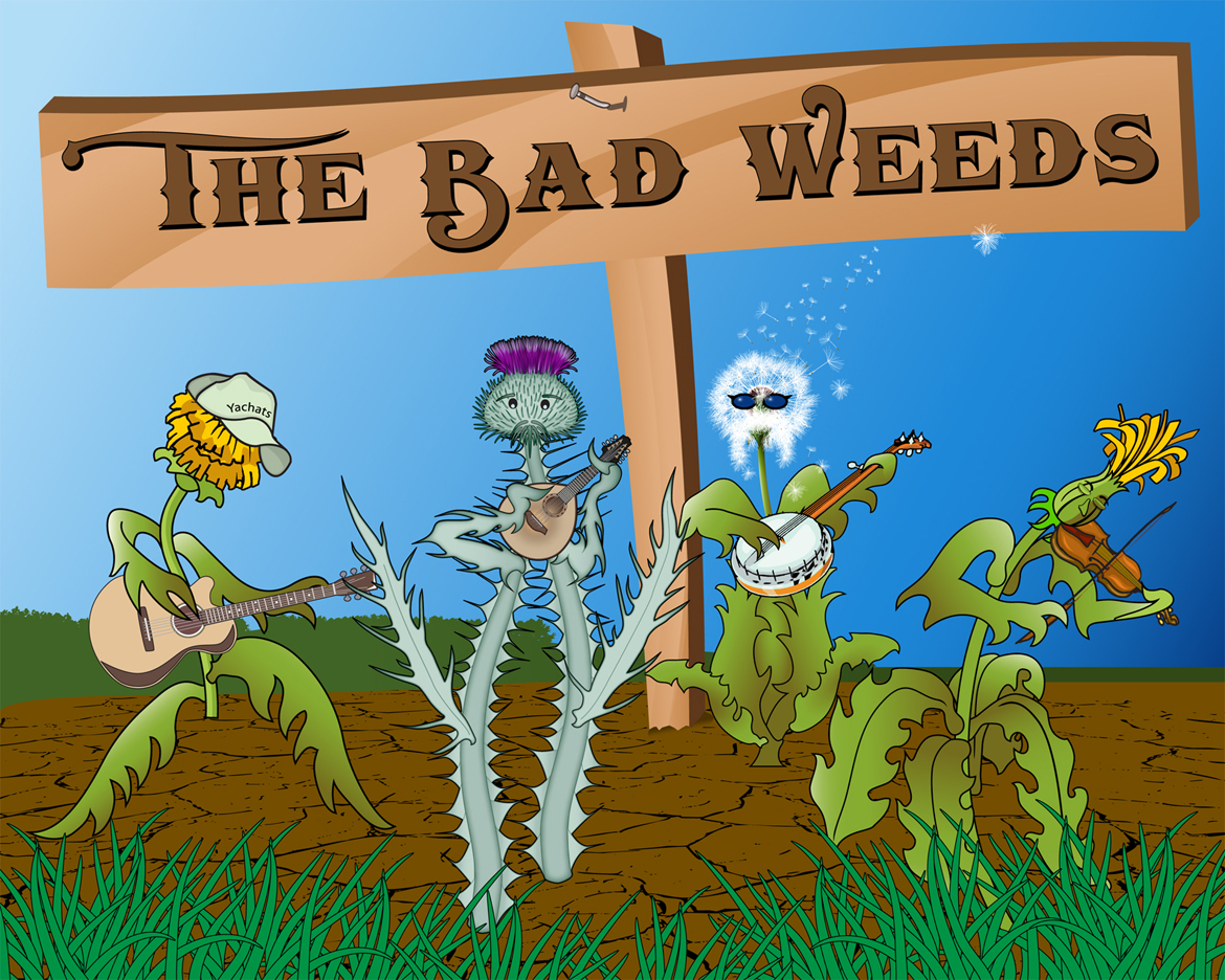 The Bad Weeds logo