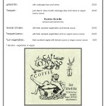 Cafe Mudo menu page 3
