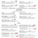 Savory Cafe Menu page 3