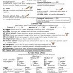 Savory Cafe Menu page 5