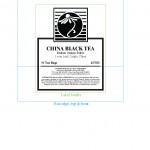 Dry Tea Box Labels