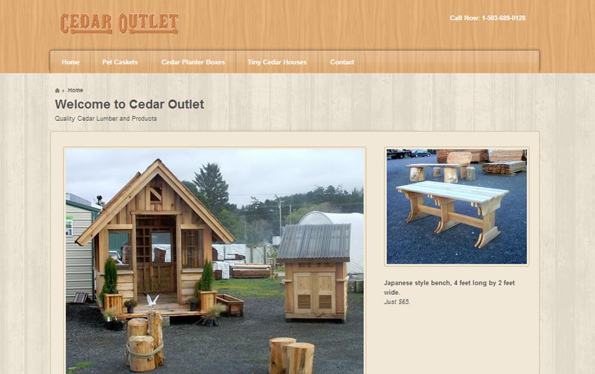 Cedar Outlet